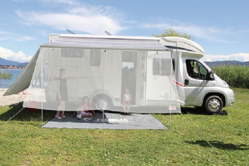 Fiamma Sun View XL Front Panel & Shade Sun View